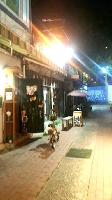 김광석거리 유칼립투스 2층 너울Swell  카페같은 편한휴식공간 - 중구 - Rumah