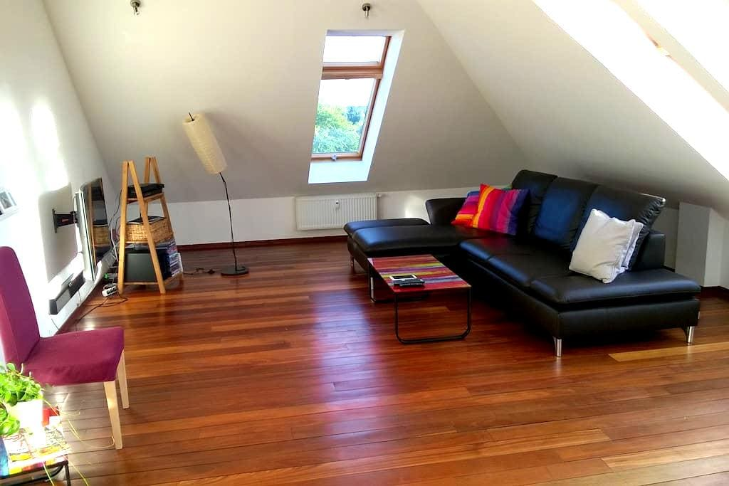 Sunny loft with two floors and roof terrace - Hannover - Condomínio