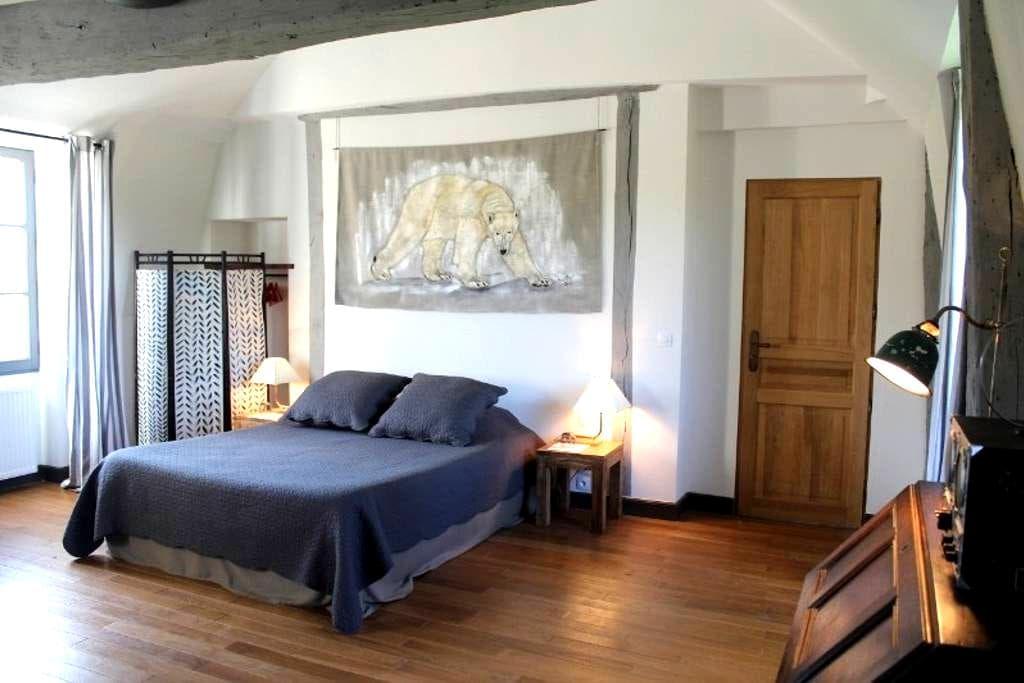 Chambres de charme au château  - Salbris