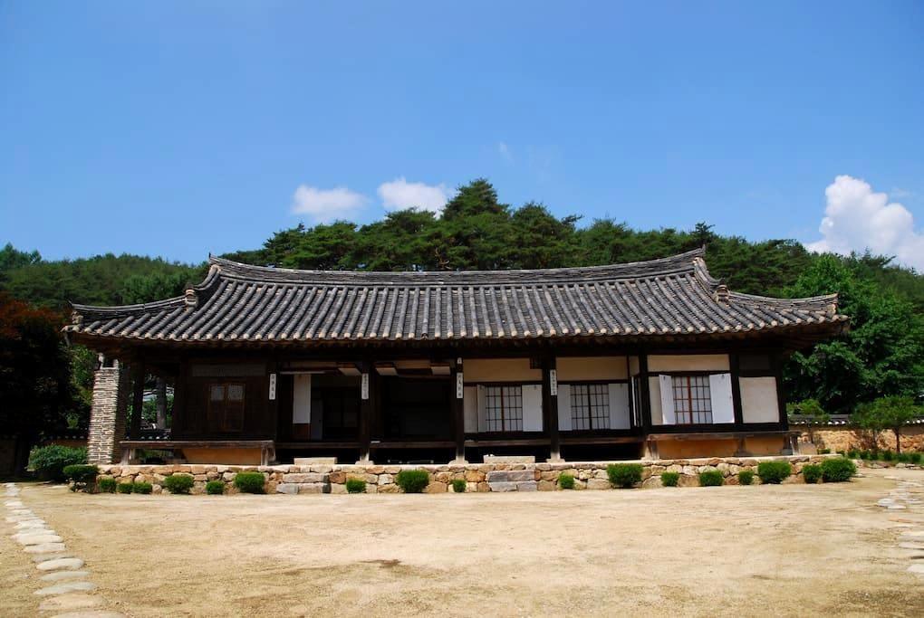 Seong-am noble House : sang bang(upper room) - Chunyang-myeon, Bonghwa-gun - Rumah