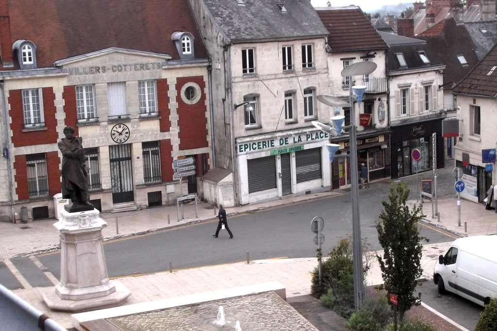 Appartement place centrale Villers-Cotterêts - Villers-Cotterêts - Appartement