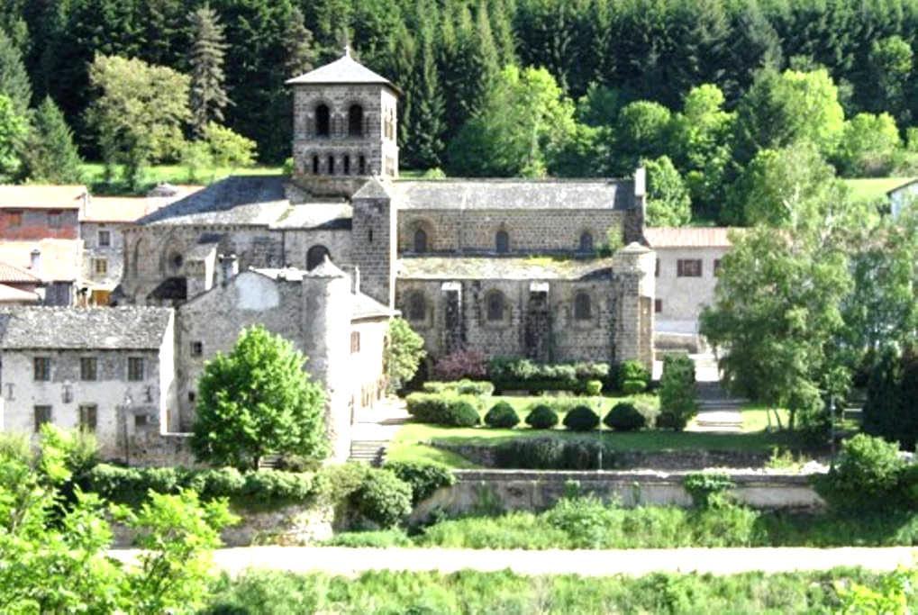 Chambre dans agréable Maison de Bourg - Chamalières-sur-Loire - Haus