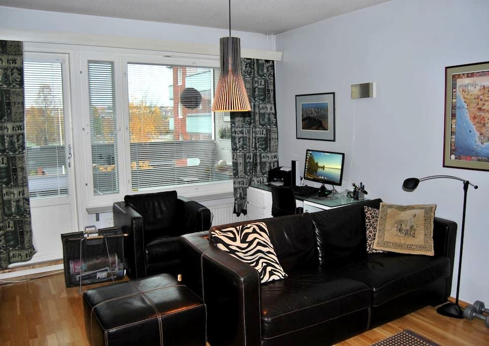 Modern apt with private sauna and balcony - Rovaniemi - Daire