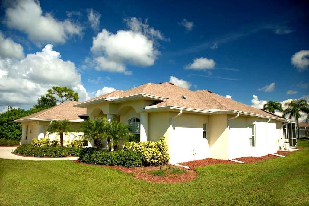 Sanctuary Villa, beautiful Gulf Coast home - Rotonda West - Villa
