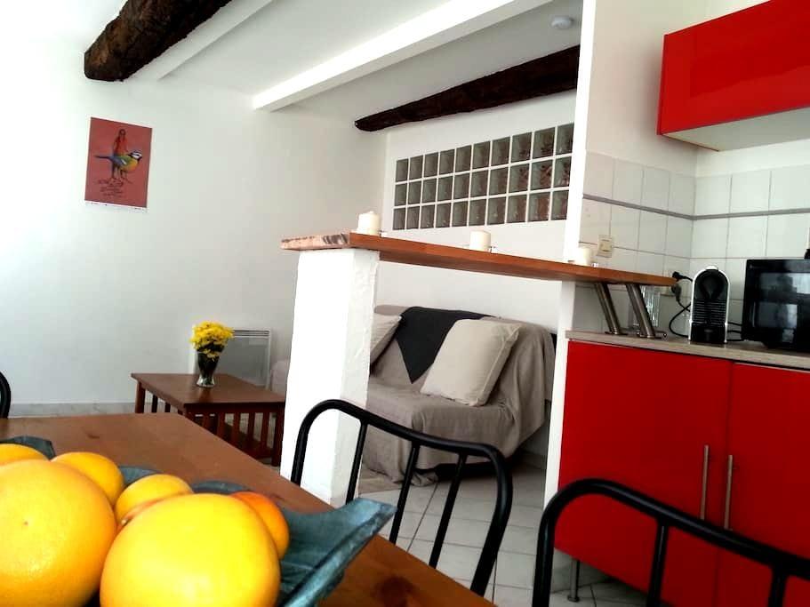 Charming &  Cozy 1 Bedroom Apt 34m2 - Tolón - Departamento