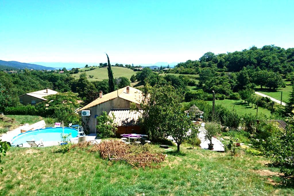 Chez Chris 2, calme, vue imprenable - Veyras, Auvergne-Rhône-Alpes, FR - 一軒家