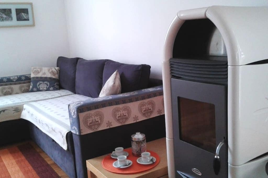 Charming apartment two bathrooms for your holidays - Dimaro - Departamento