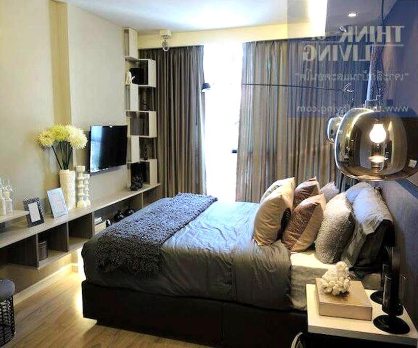 Beautiful condo 5 min walk to MRT. - Bangkok - Ortak mülk