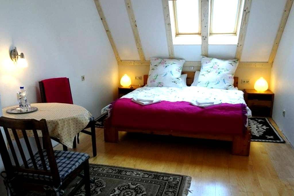 Großes Dachzimmer mit Frühstück - Saarbrücken - Bed & Breakfast