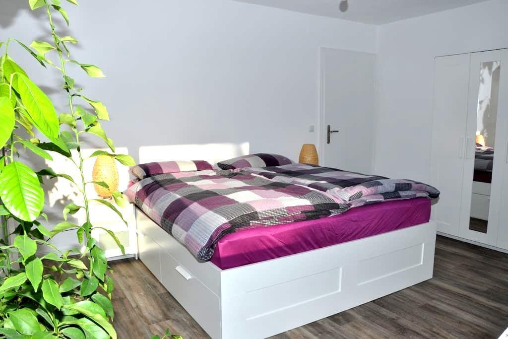 Schöne Einliegerwohnung mit Terrasse in Aalen - Aalen - Apartment