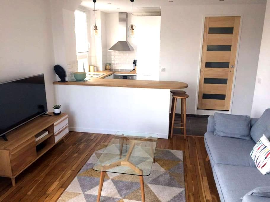 Cosy apartment 15min from Bastille - Maisons-Alfort - Apartament
