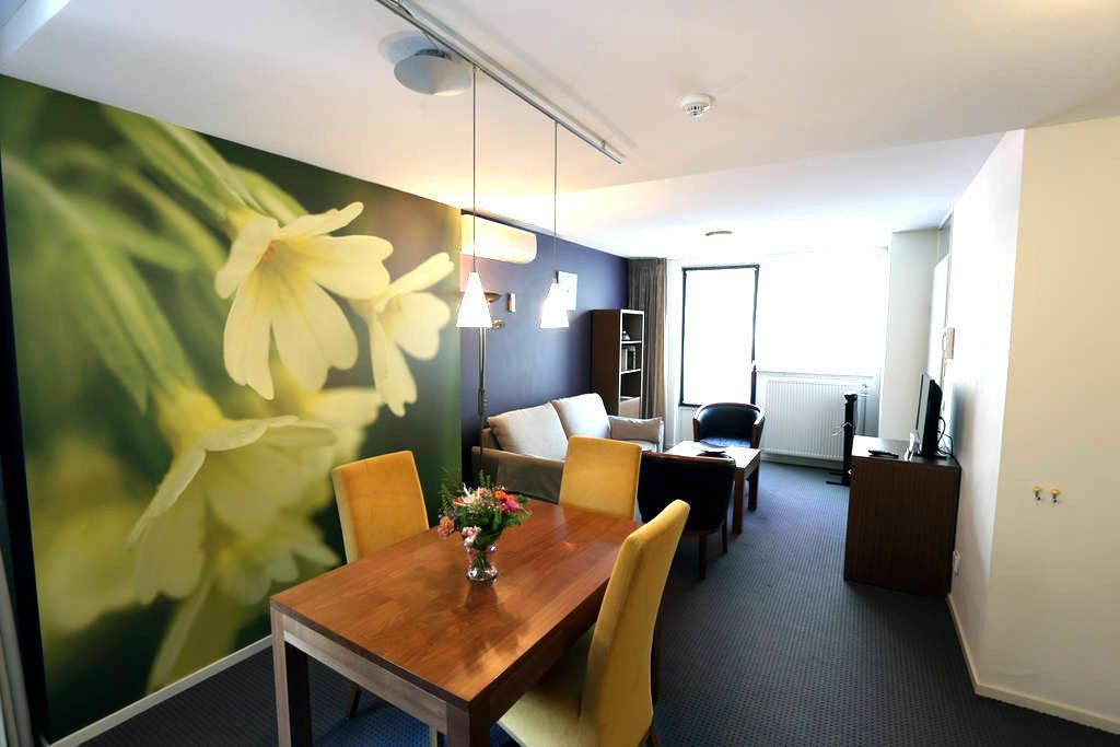 Appartement met apart slaapkamer kitchenette,airco - Oirschot - Byt