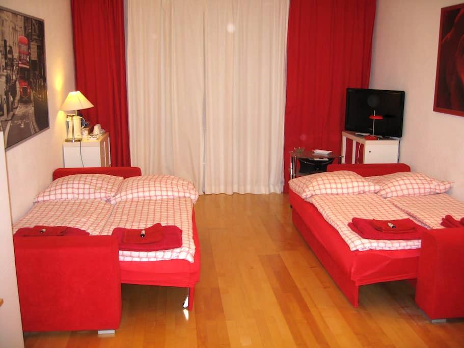 Confortable room am Olympiapark near the U3 - München - Apartment