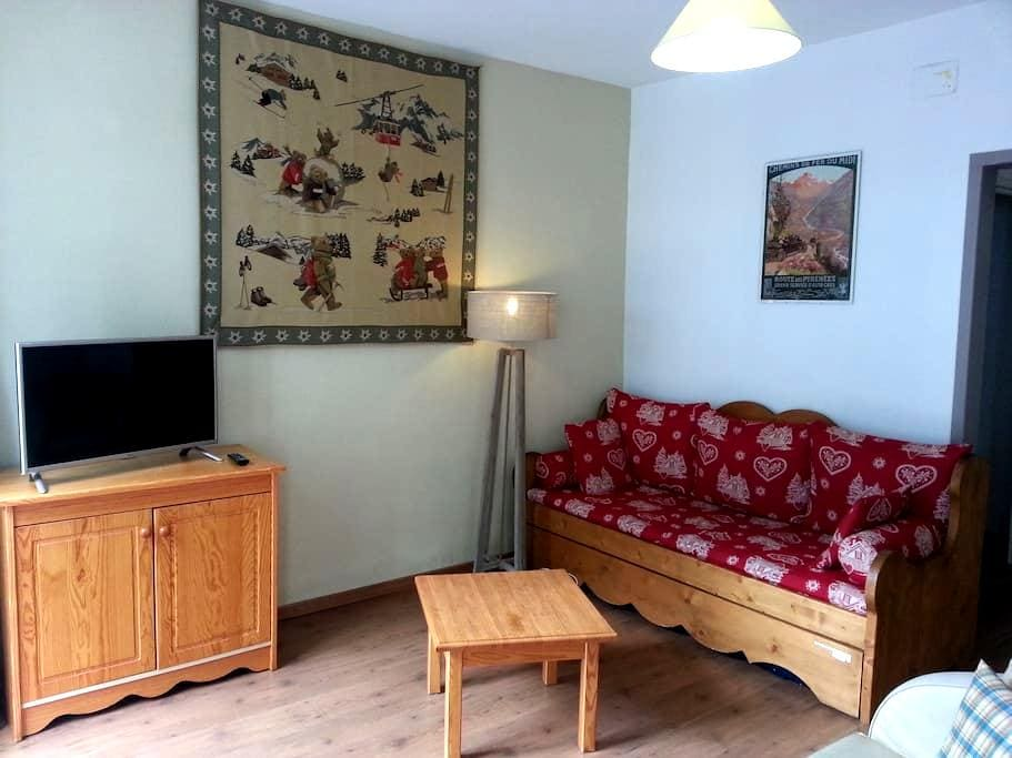 App 2 rooms 8 pers center of cauterets - Cauterets - Apartment