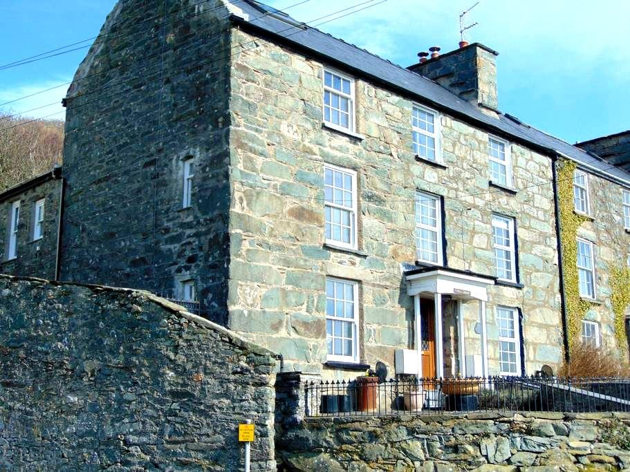 Grade II listed house with Sea and Estuary Views - Barmouth - Haus