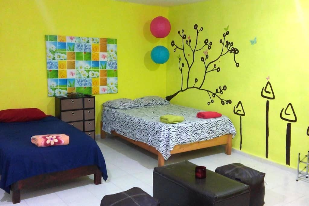 Studio to 5 blocks from the beach 1! - Playa del Carmen - Lejlighed