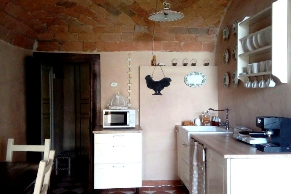 """As once""  small flat - Piacenza - Huis"