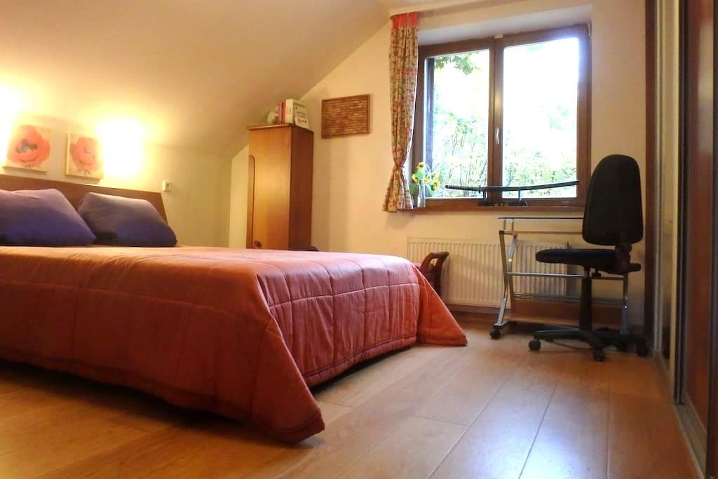 Luxurious private room near Old Town and forest - Vilna - Casa