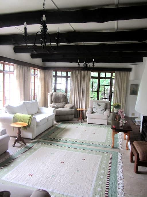Twin bed - Under the milkwoods - ideal stop over - Port Alfred - Rumah