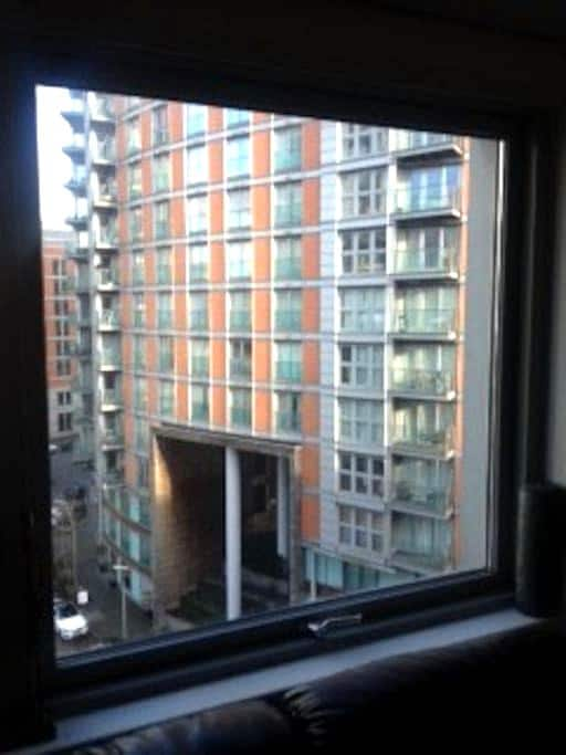 Stunning Twin room Canary Wharf, 5 mins to City - London - Apartment