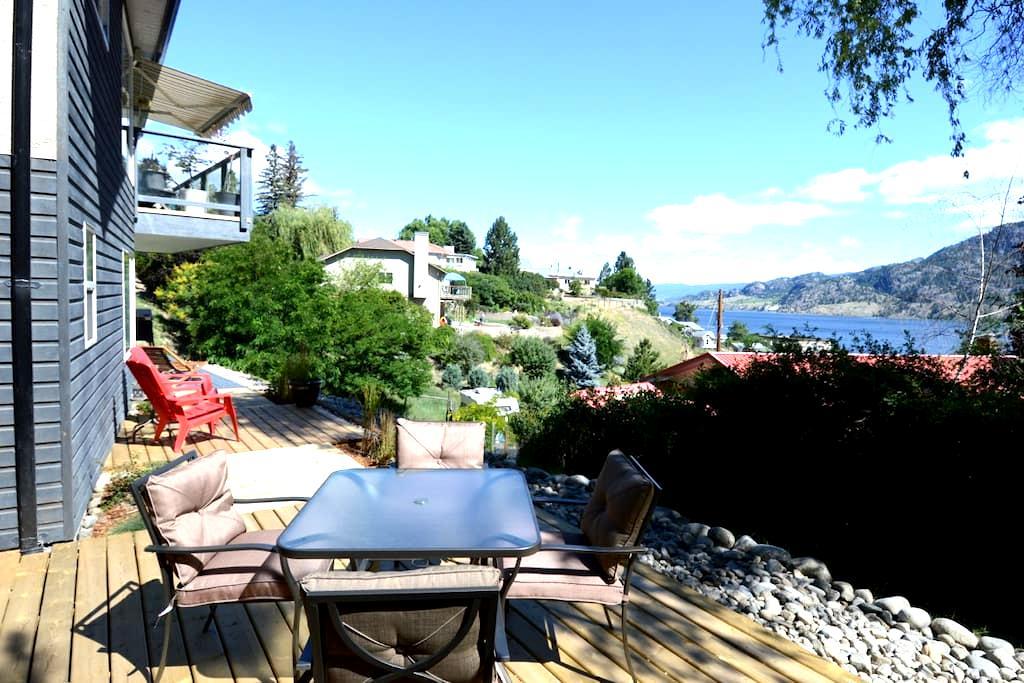 Lake view Guest House - Kaleden - Ev