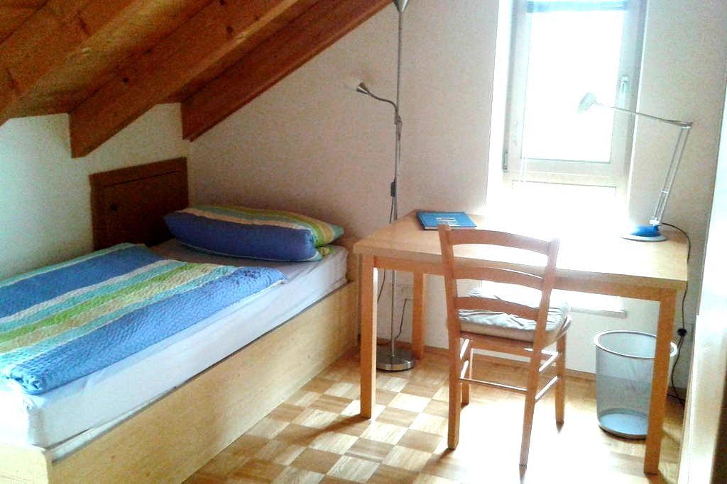 Nähe Salzburg: Einzelzimmer mit extra Bad - Freilassing