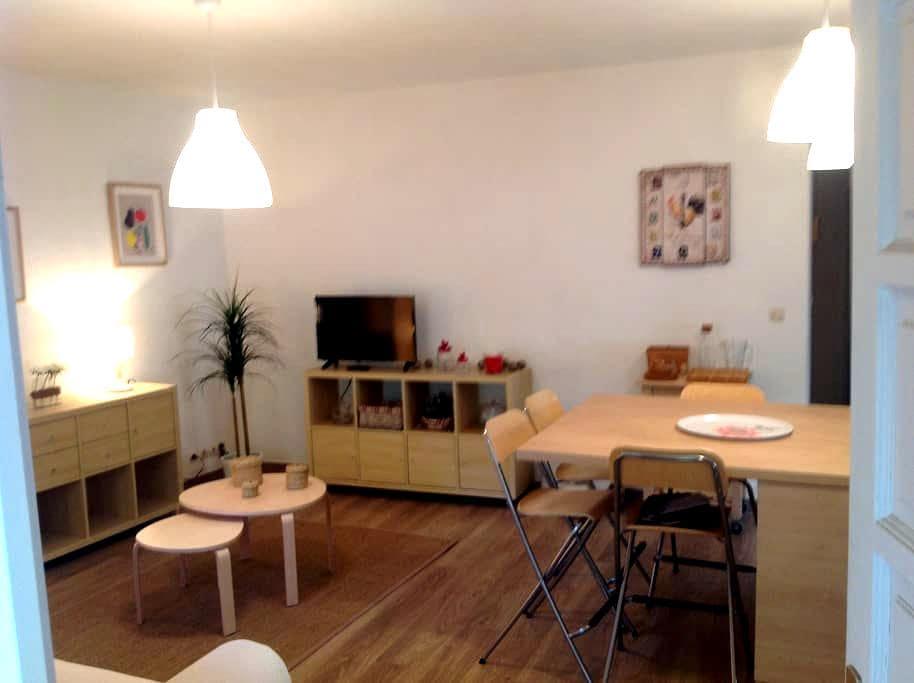coquet confortable connecté fibre!! - Perpignan - Apartmen