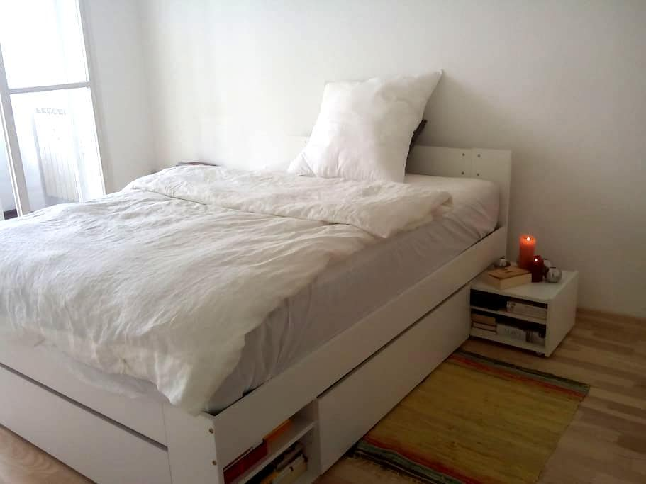 cozy room with comfortable bed in central location - Berlim - Apartamento