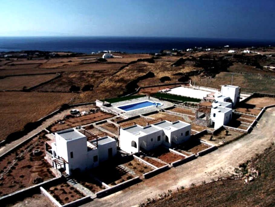 'Aiolides' housing complex in Paros - Aspro Chorio - Illa