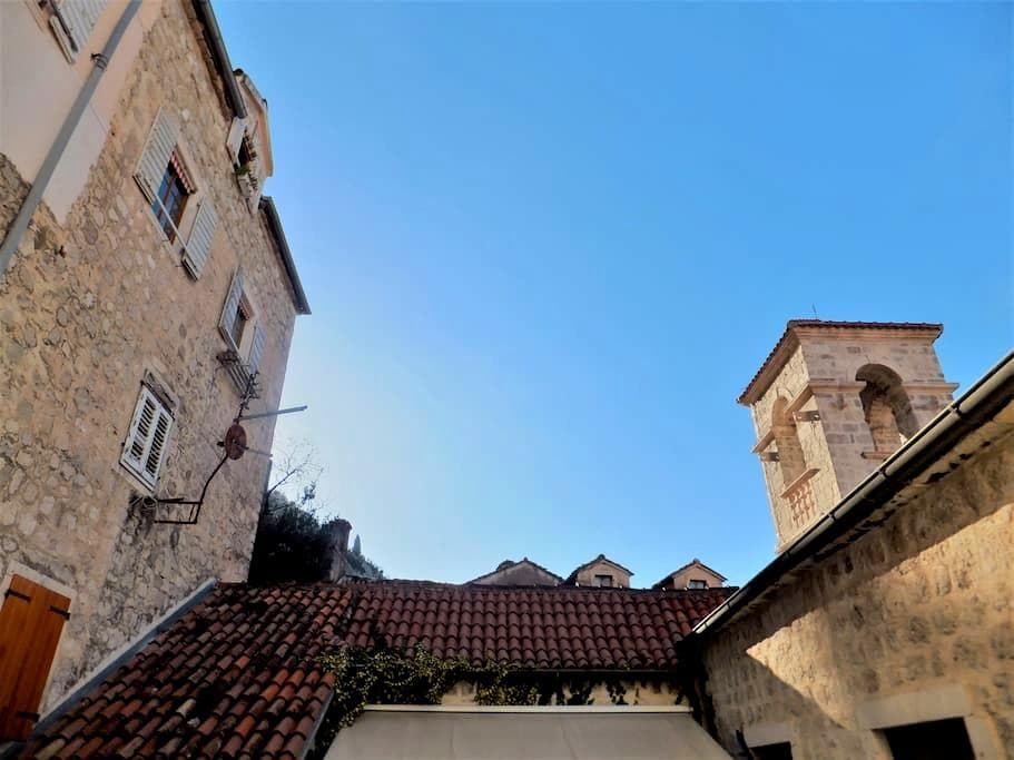 San Francis accomodation in Kotor Old Town - Kotor - Leilighet