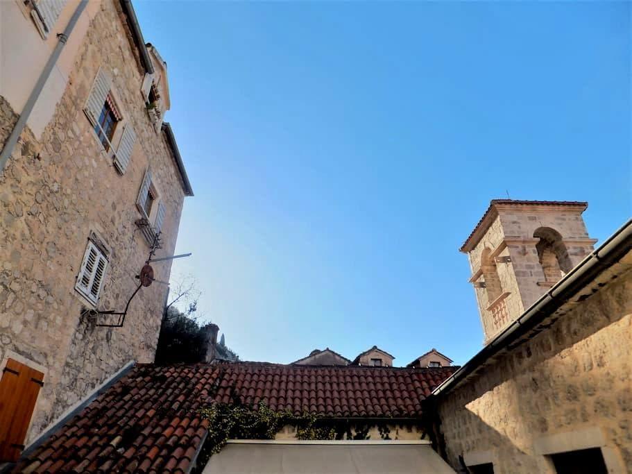 San Francis accomodation in Kotor Old Town - Kotor - Wohnung