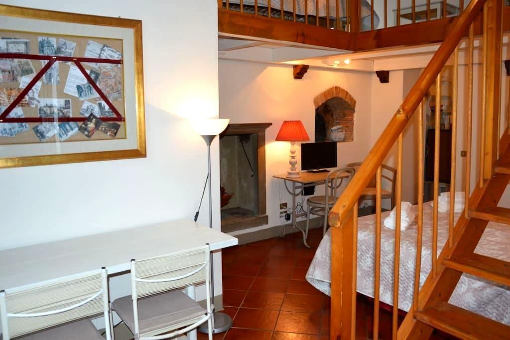 Artemisia Antique Rooms Salvecchio - 貝加莫 - 公寓