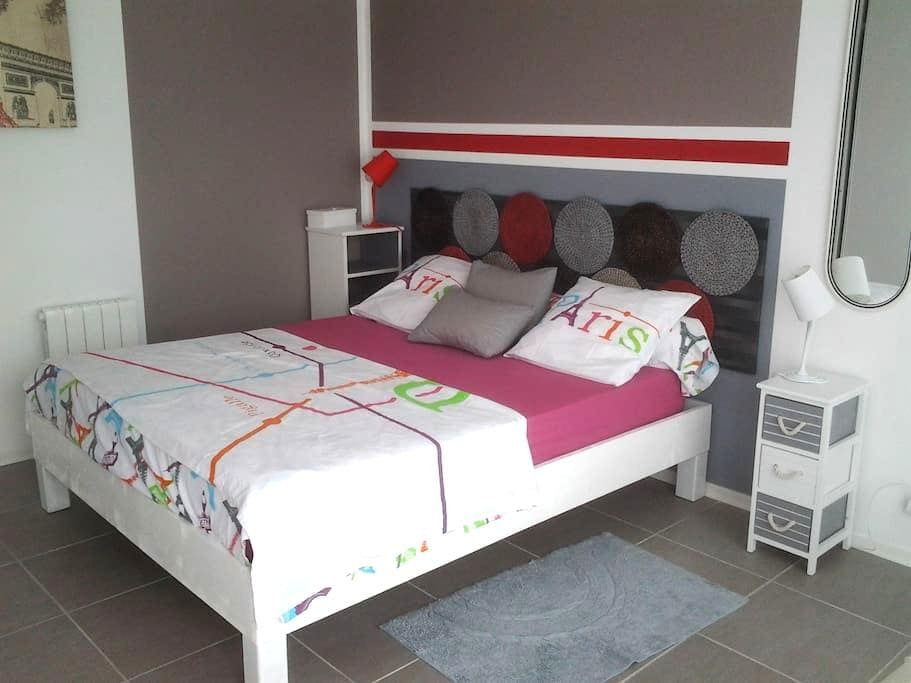 Suite parentale spacieuse, lumineuse,  calme - Carcans - Casa