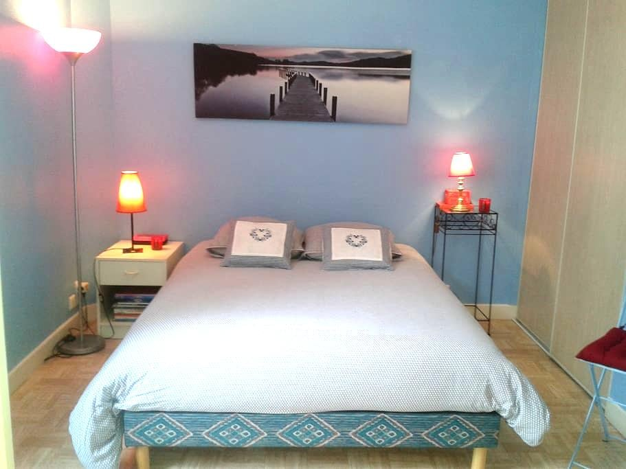 Bedroom, only five minutes' walk from Croisette. - คานส์ - ที่พักพร้อมอาหารเช้า