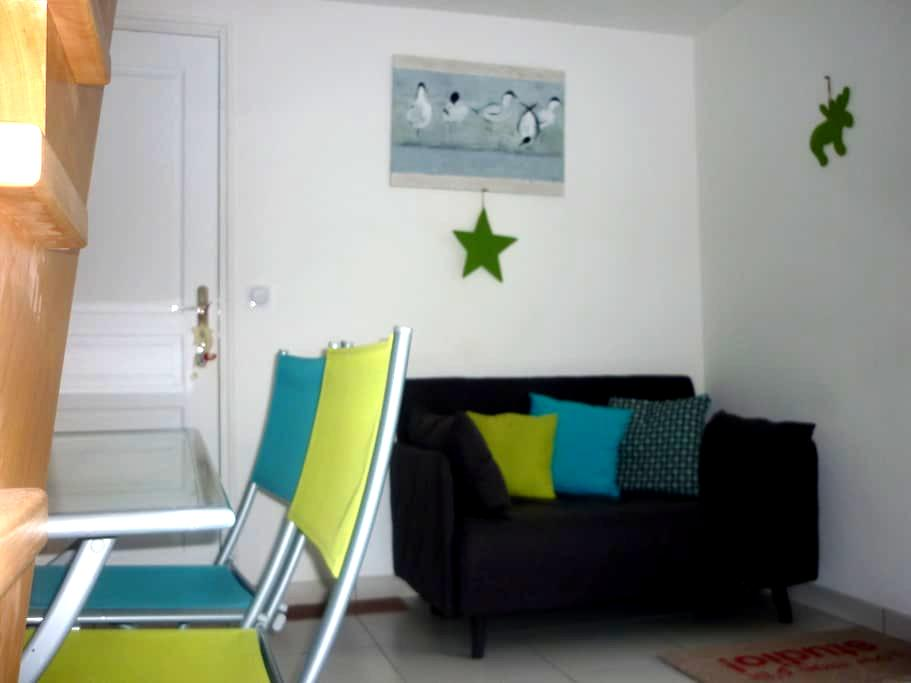 Studio duplex neuf avec terrasse et jardin - Plescop - Hus