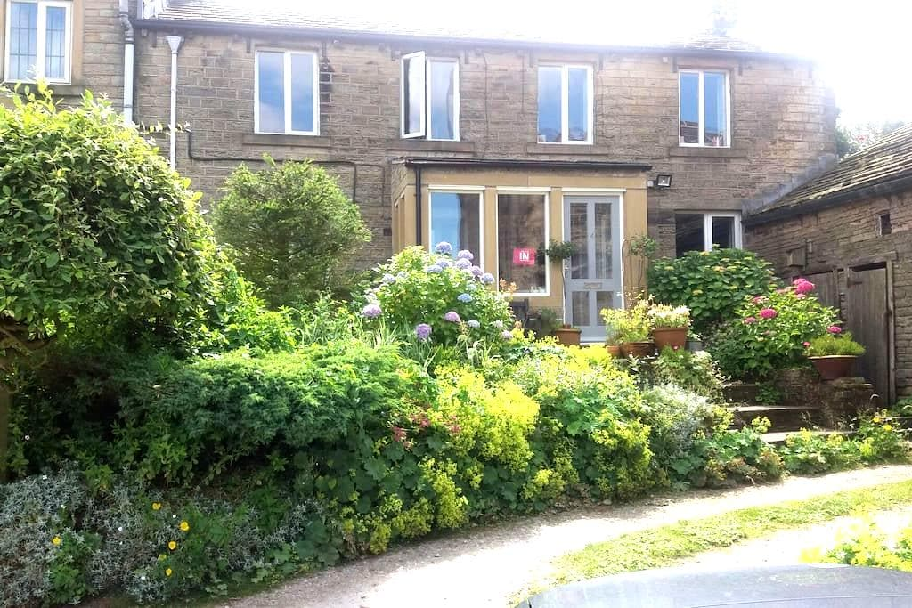 17thC cottage & Tub - Holmfirth - Casa
