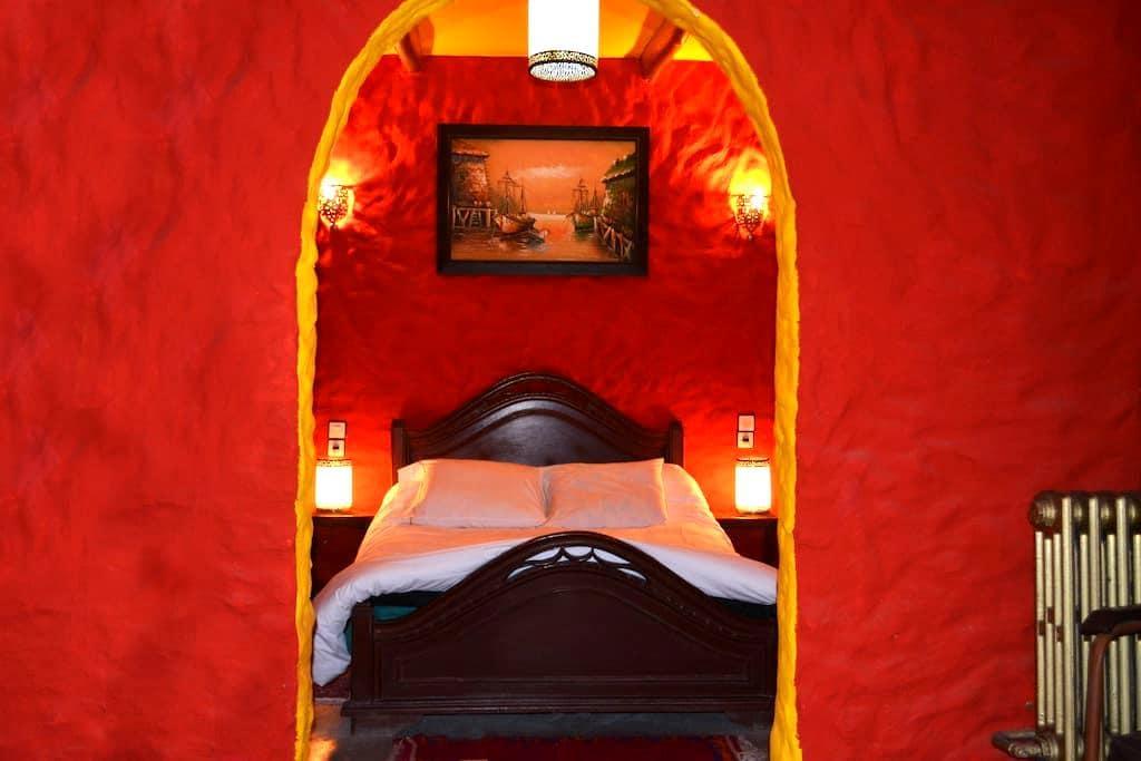 Hotel Sahara Essaouira  : Chambre Simple 1 pers - Essaouira - Oda + Kahvaltı
