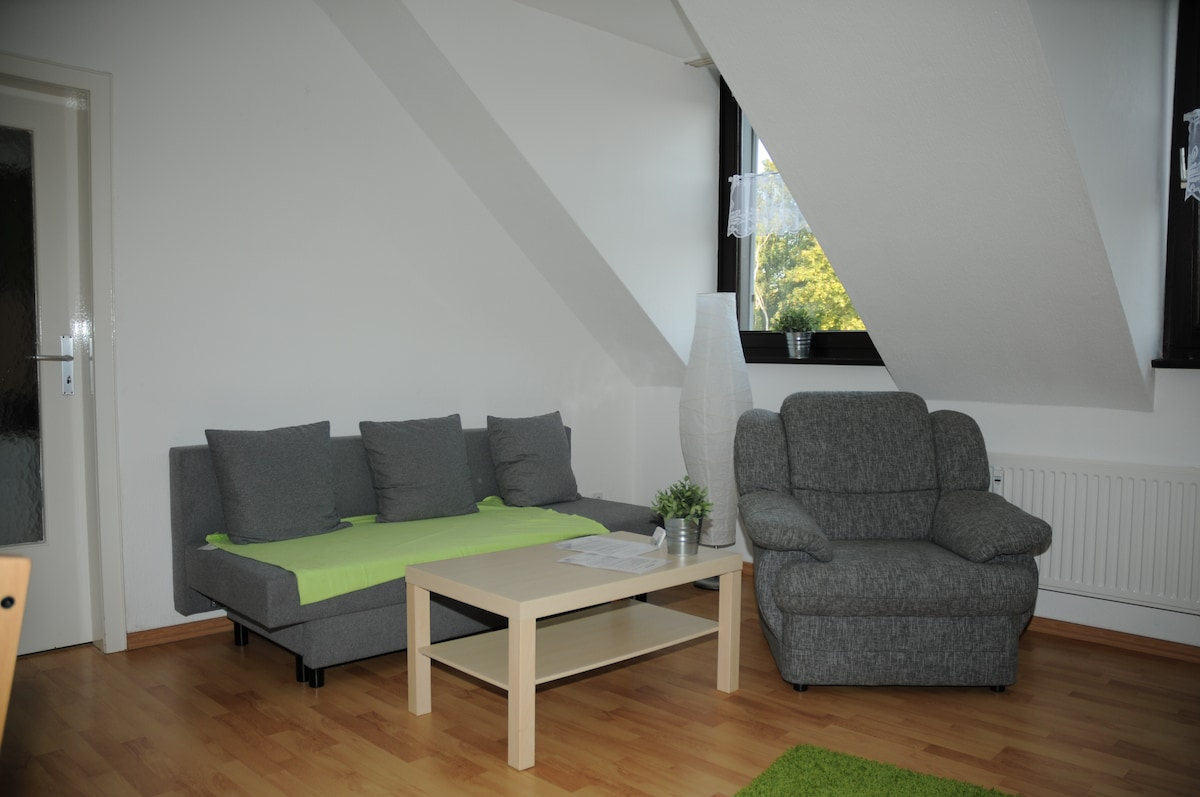 Modernes Dachgeschossapartement