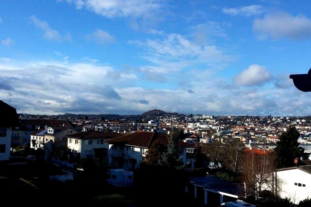 Zimmerchen, ruhig und gut gelegen - Pforzheim - Huoneisto
