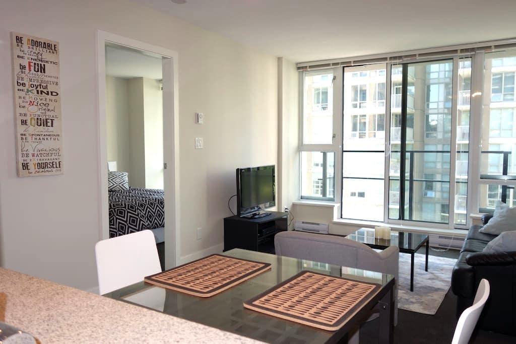 Modern 1 bedroom Apt - Yaletown/DT - Vancouver
