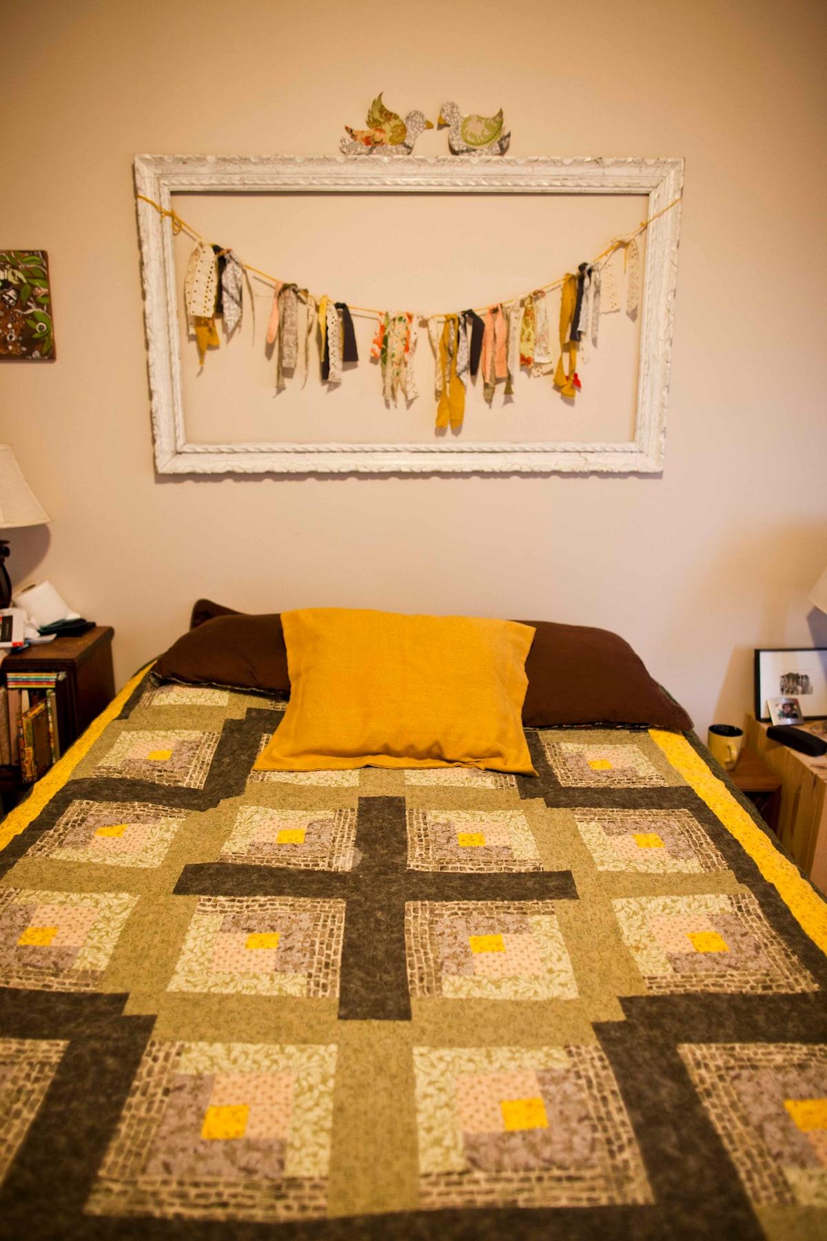 Cozy 1 bedroom apt