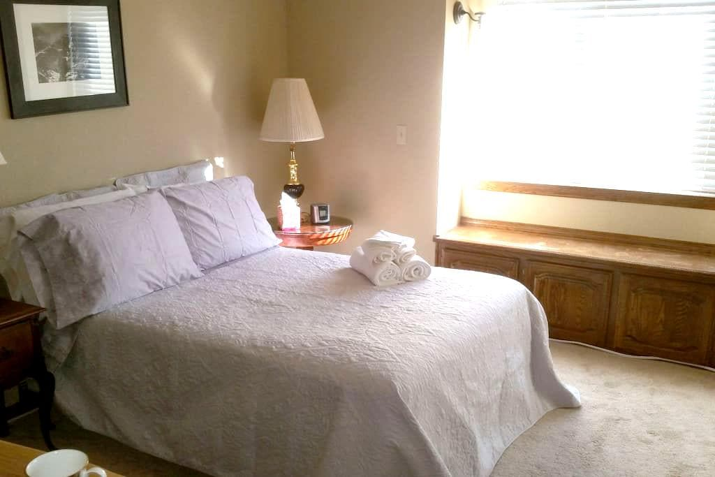 Private Bedroom In Upscale Home (Silver Room) - San Martin
