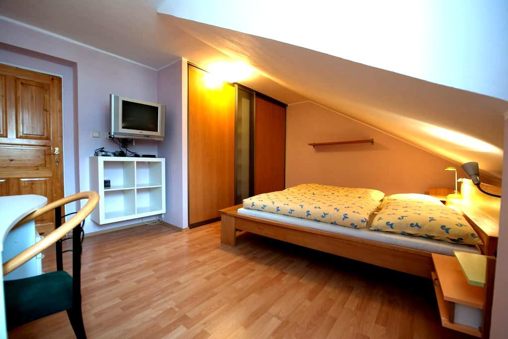 Tomas's home master bedroom  :) - Český Krumlov - House