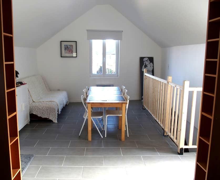 "The ""White"" room near Strasbourg - Alteckendorf - Lejlighed"