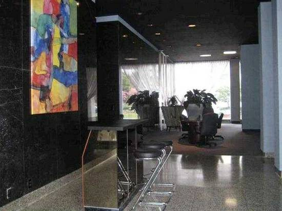 Peaceful downtown highrise condo