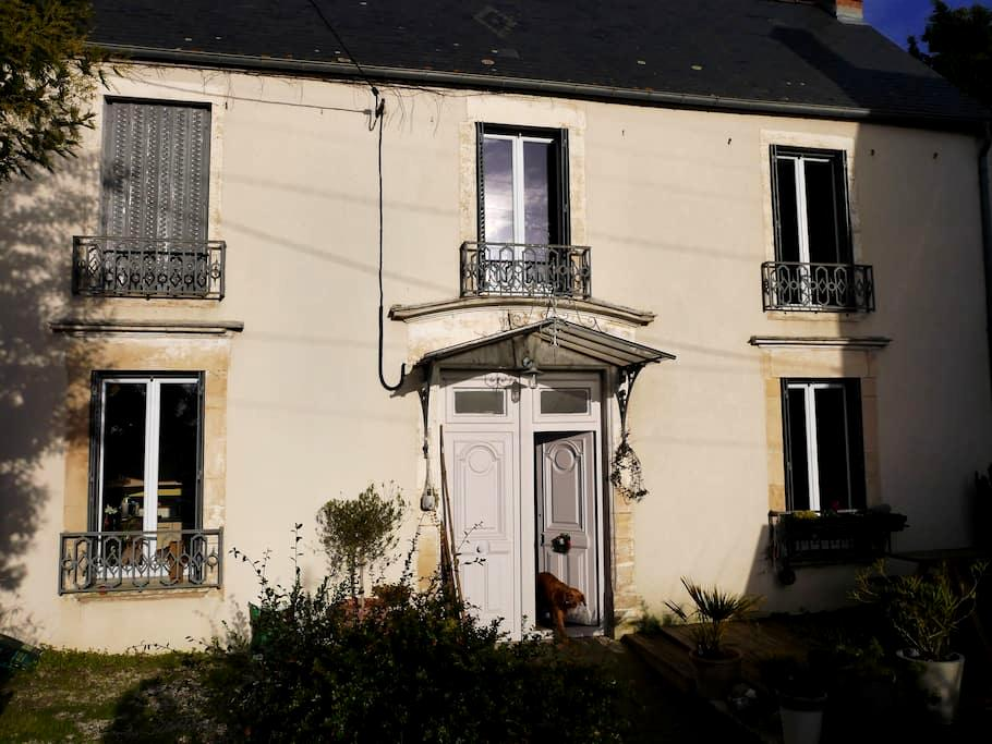 Large charming house in Bayeux, Normandy - Bayeux - Huis