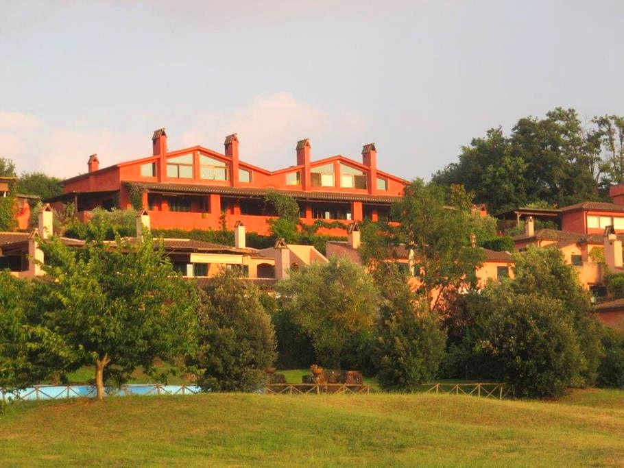 Panoramic villa near Golf Nazionale - Sutri