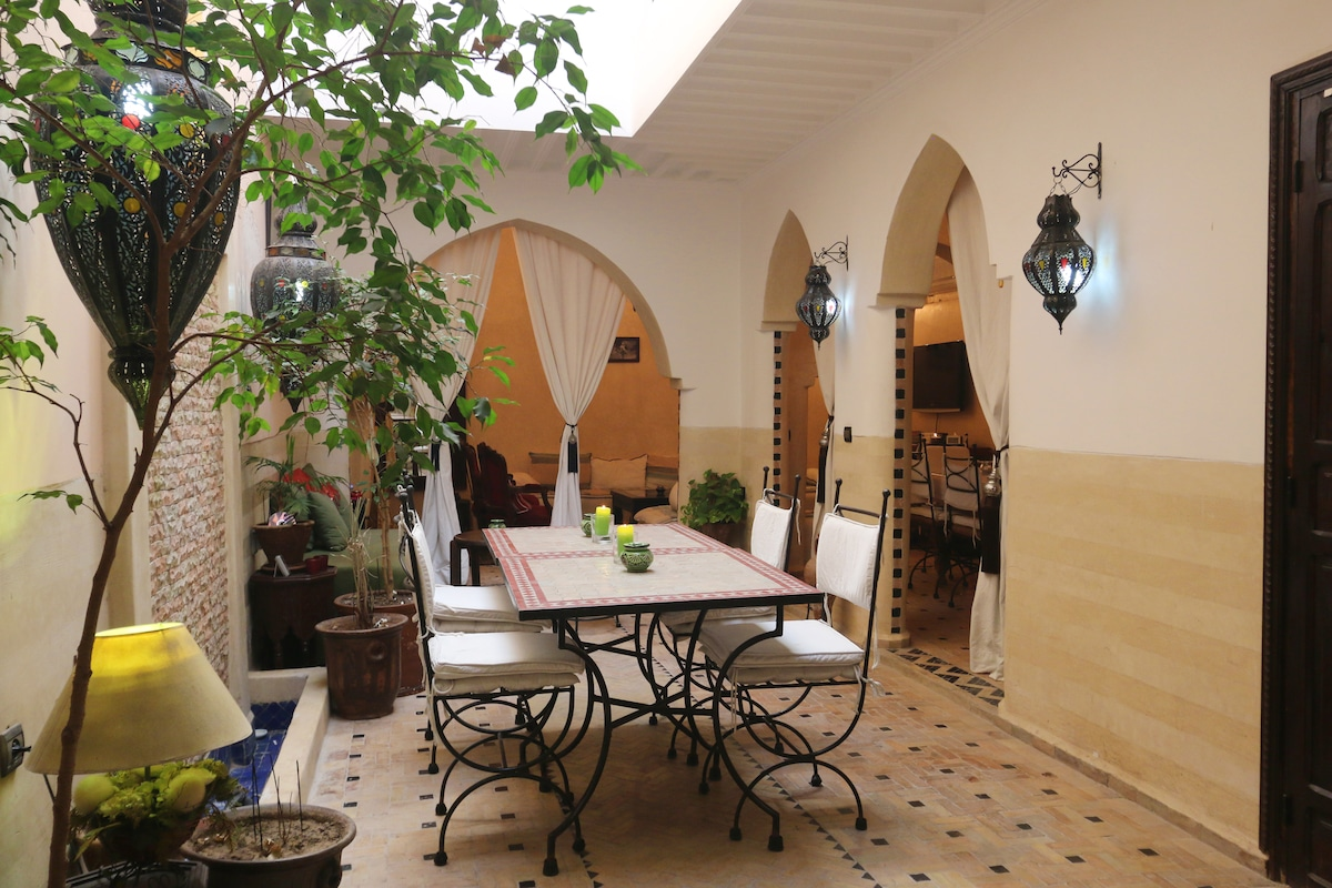 Riad Diva double room