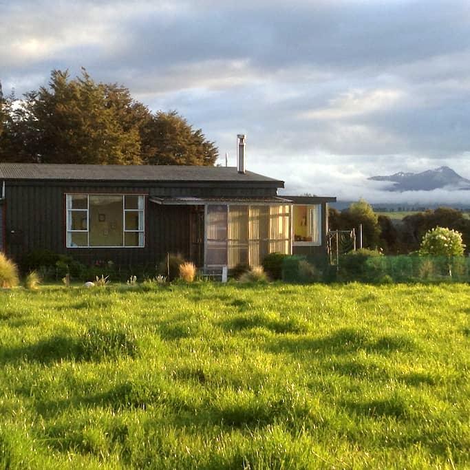 Waiau Wilderness Cottage - Te Anau - Maison