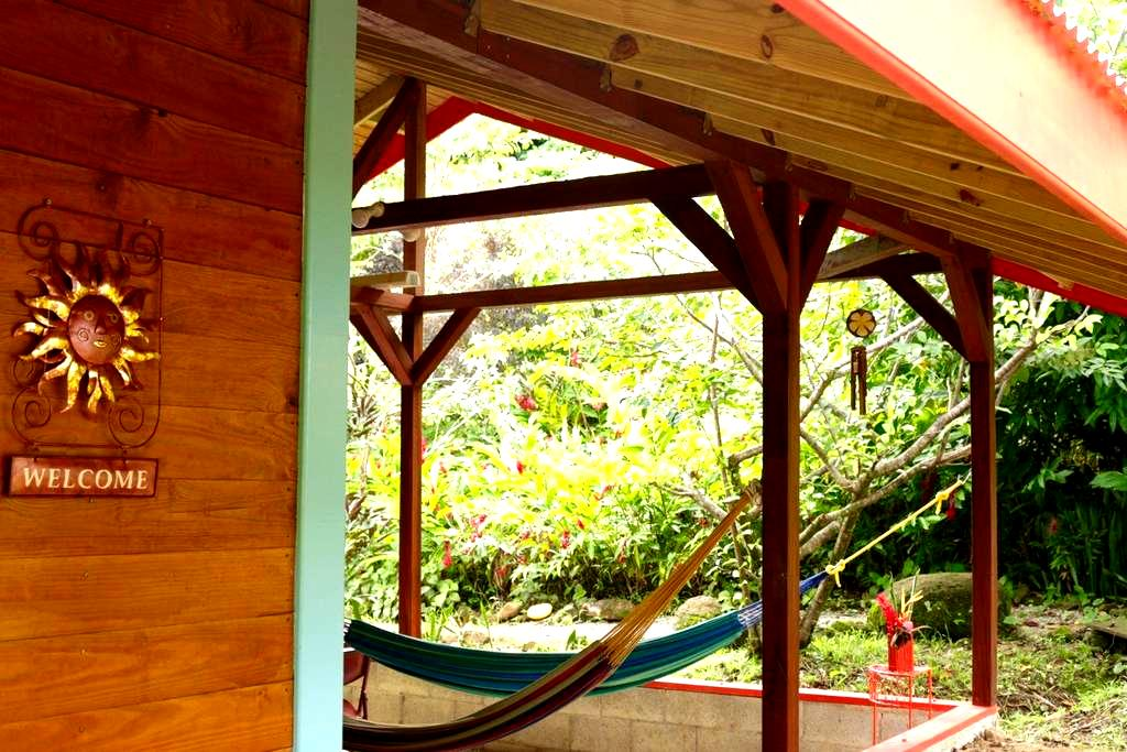 Guava Cabin - Beyond Vitality Nature Camp - Castle Bruce